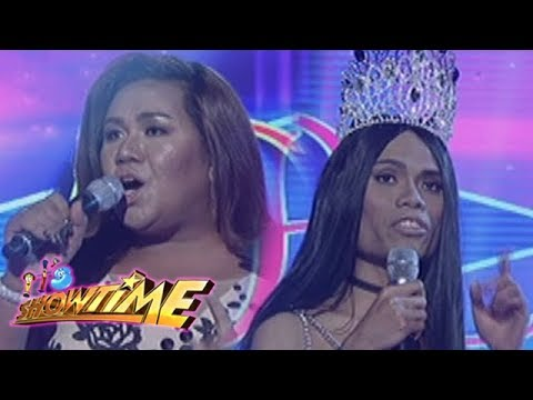 It's Showtime Miss Q & A: Ericka Francia Dusaran vs. Marigona Dona Dragusha