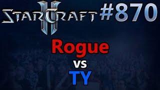 StarCraft 2 - Replay-Cast #870 - Rogue (Z) vs TY (T) - 2018 WCS Global Finals RO8 [Deutsch]