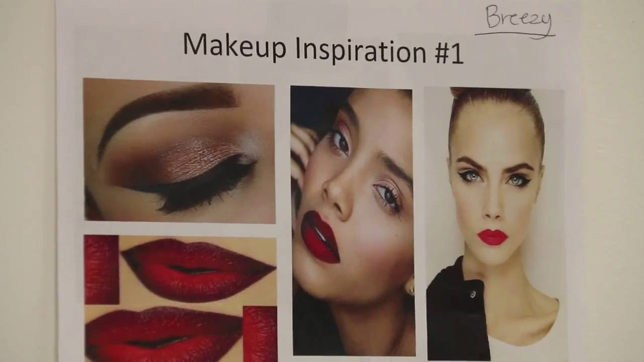 LA Makeup School - CSUN Fashion show 2016