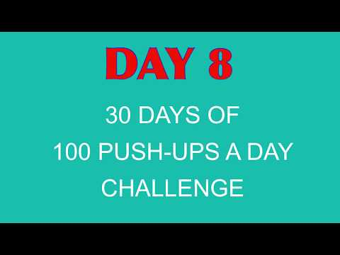 30 Days of 100 Push-ups A Day – Day 8 - Driver Success