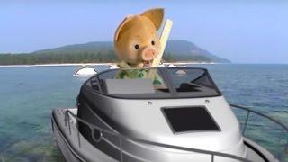 Кругосветное путешествие вместе с Хрюшей - Озеро Байкал - Интересная география для детей
