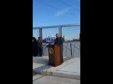 41st St. Bridge Opening
