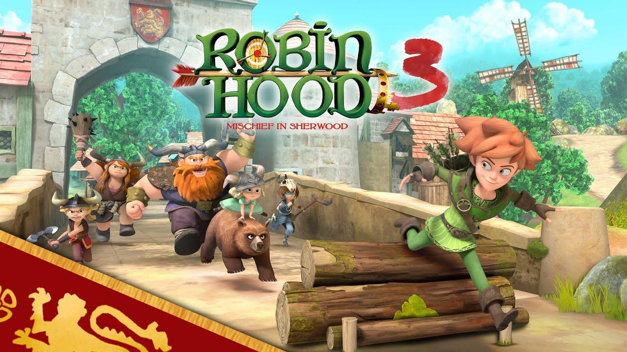 Download ROBIN HOOD | 🏹 OFFICIAL TRAILER 👑 | SEASON 3 | Mischief in Sherwood