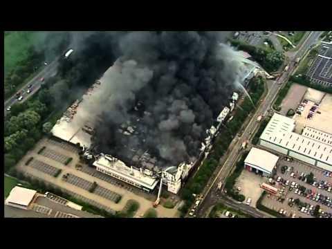 London's burning: Riot fire damage revealed