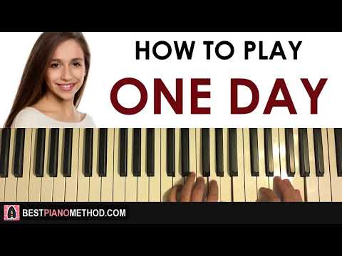 HOW TO PLAY - Tate McRae - One Day (Piano Tutorial Lesson)