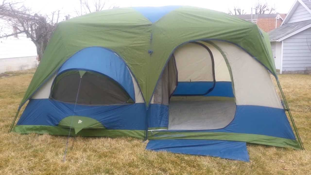 & High Sierra Appalachian two room cabin screen tent.mp4 - YouTube