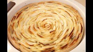 """Украшение любого стола - потрясающий яблочный пирог """"Роза"""""""