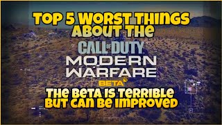 CallOfDuty Modern Warfare Beta: Top 5 Worst things in Beta