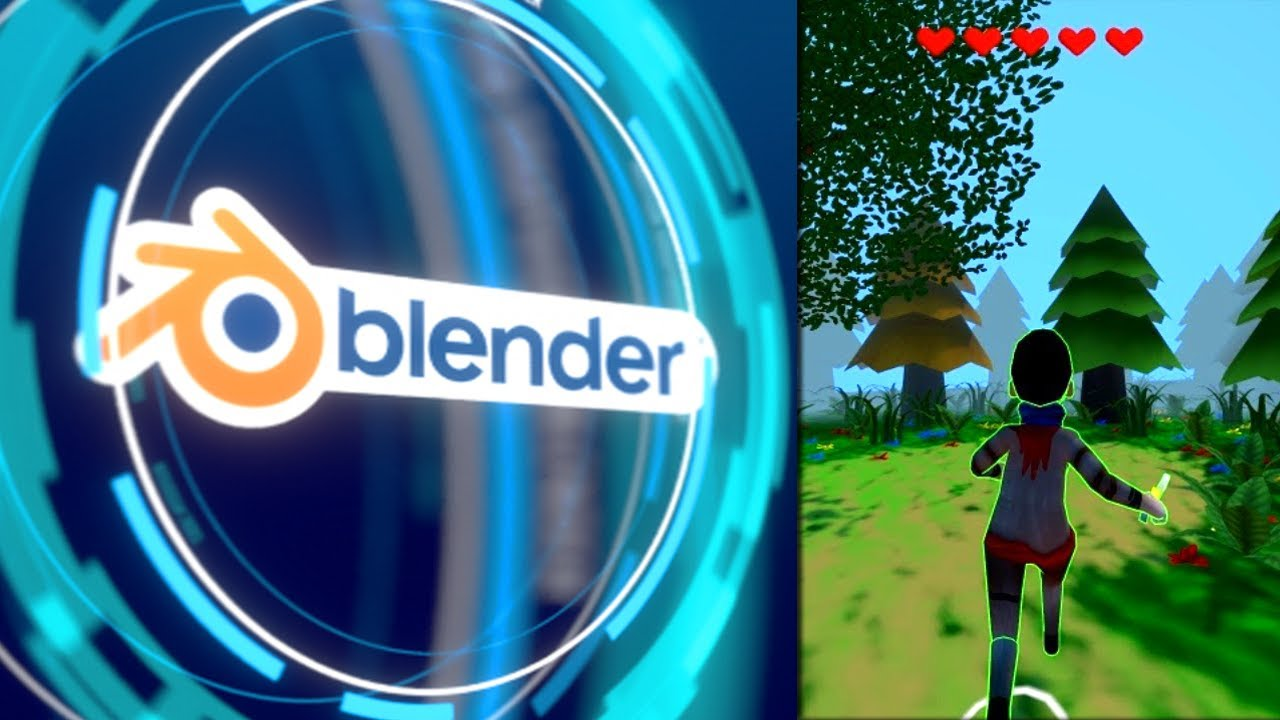 how to make a racing game in blender