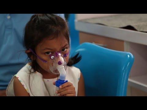 Air pollution kills 600,000 children each year: WHO