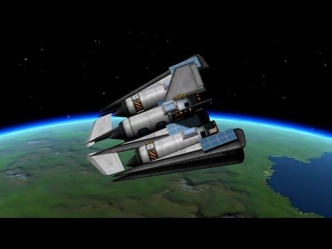 KSP - High Apoapsis Suborbital Passenger Flight - 5 minutes in space