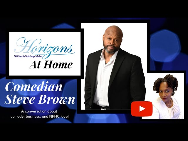 Comedian Steve Brown talks comedy, business, and NPHC pride