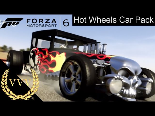 Forza Motorsport 6 Hot Wheels Car Pack Trailer