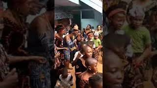 Boyo Community Dance, Njang Wain, Born-House Song, St Marcellin Primary School Yaounde 26 Feb. 2020
