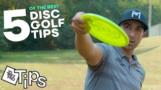 The 5 best UPSHOT TIPS from Paul McBeth (5x World Champion) | Disc Golf Tutorial