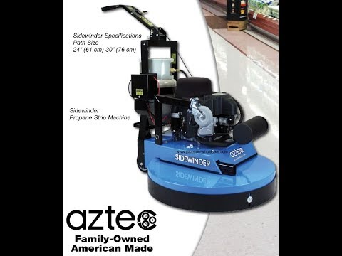 Aztec Sidewinder 30 And 24 Propane Stripping Machine 010-603