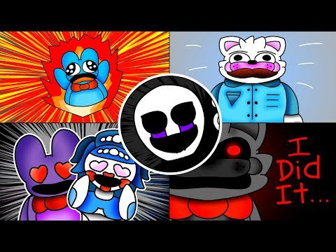 How To Draw: Secret Future Episodes and More! - FNAF Speed Paint
