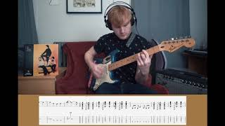 Running Into You by The Cribs (Guitar Playthrough with tabs)