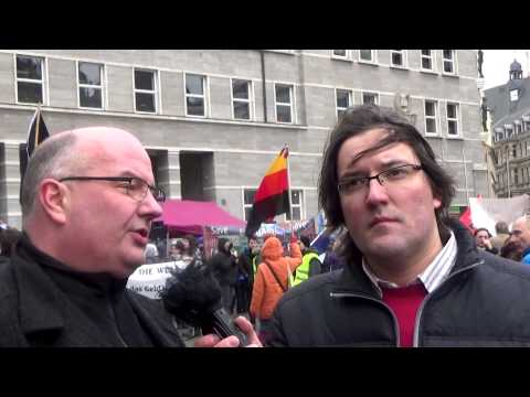 EnDgAmE Demo in Halle am 21. Februar 2015 - Die Interviews