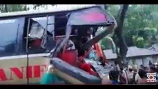 Cox'sbazar road accident - বাস ও ট্রাকের মুখোমুখি সংঘর্ষ