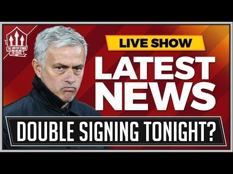 MOURINHO's Double Manchester United Signing Tonight! Plus SANCHEZ Manchester United Transfer News