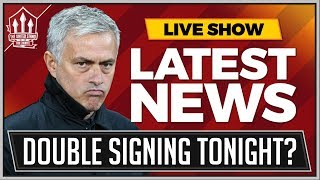 MOURINHO's Double Manchester United Signing Tonight! Plus SANCHEZ Manchester United Transfer News thumbnail