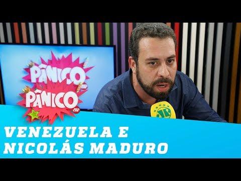 Boulos fala sobre Venezuela e Nicolás Maduro