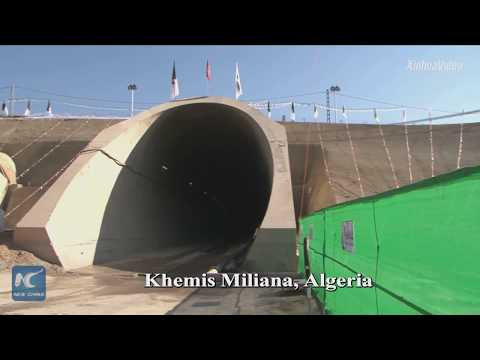 North Africa's longest railway tunnel completed by Chinese c