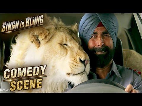 Akshay Kumar & Lion In A Car | Comedy...