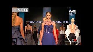 ANGEL SANCHEZ Fall Winter 2017   18 Miami Fashion Week   Fashion Channel