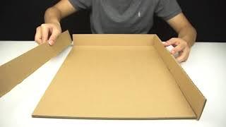 как сделать из картона лабиринт для шариков