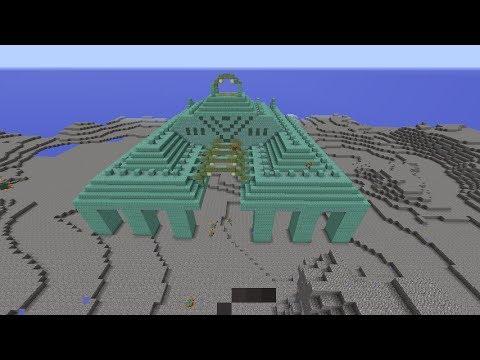 Minecraft seed 1 8 templo do mar e bioma colorido youtube for Gimnasio 360 roquetas de mar