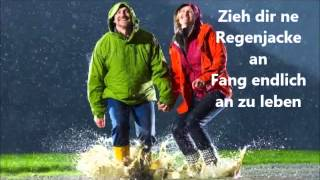 Tom Beck - Regenjacke (Lyrics)