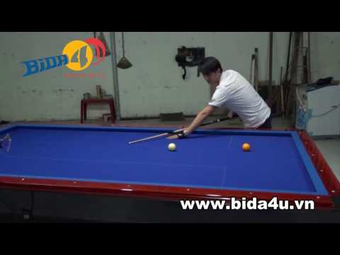 Học bida với Lê Khiêm-Hướng dẫn các kiểu đẩy cơ đúng - Billard lesson - How to get a right shot