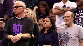 Proud Mom Julia Louis-Dreyfus Cheers For Son During March Madness