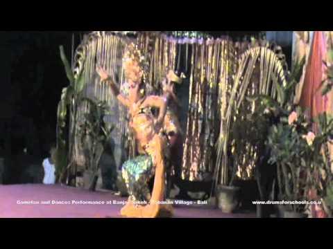 Gamelan and Dances Performance at Banjar Sakeh - Tabanan - Bali.m4v
