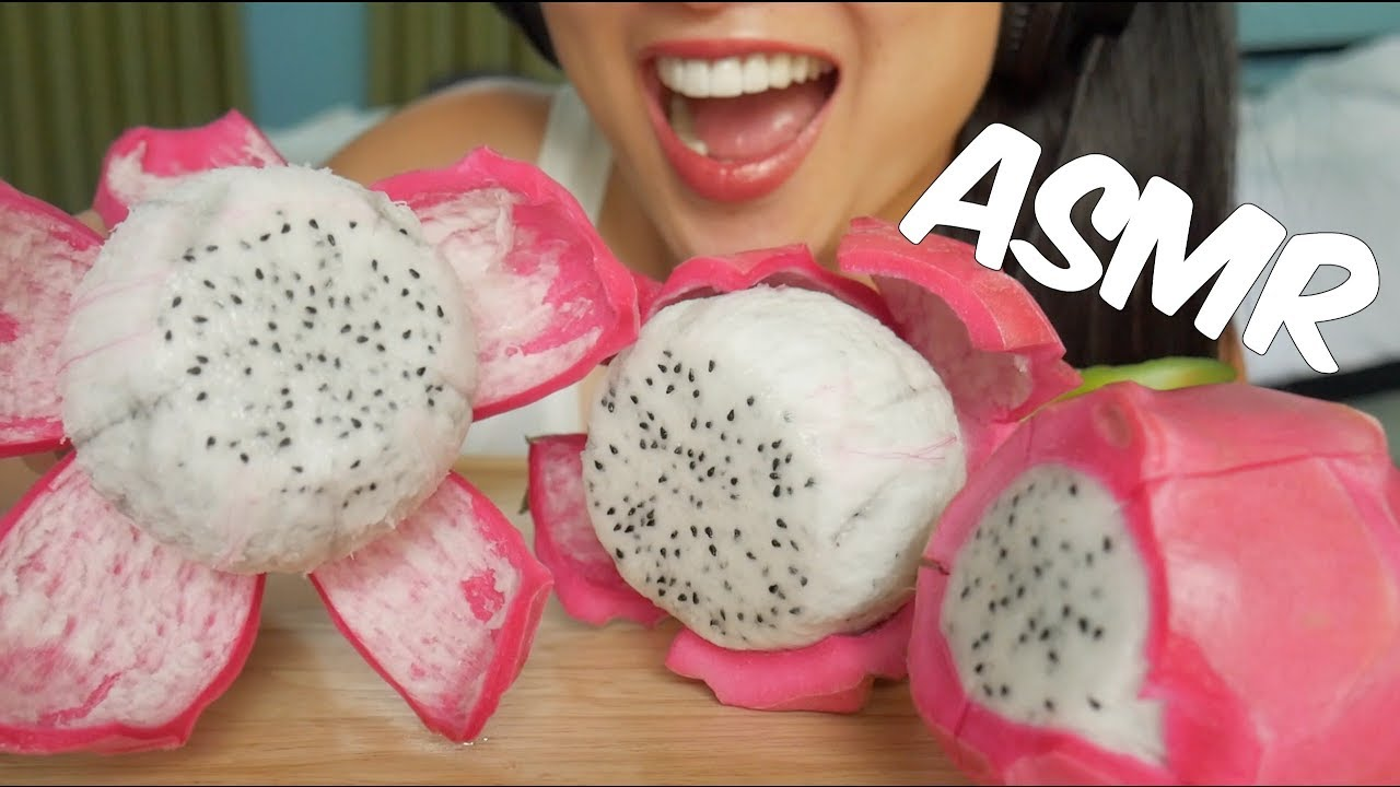 Asmr Dragon Fruit Eating Sounds Sas Asmr Youtube Check out this biography to know her birthday, family life, achievements and. asmr dragon fruit eating sounds sas asmr