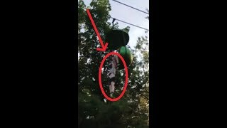 Girl Falling off ride at Six Flags Great Escape ( Unconscious severely injured )!!!