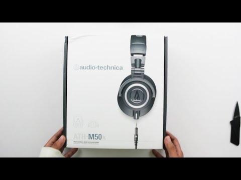 Audio Technica ATH M50X Unboxing India