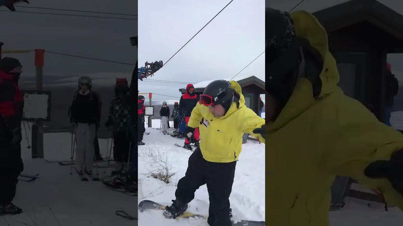 Како НЕ се качува на ски-лифт?