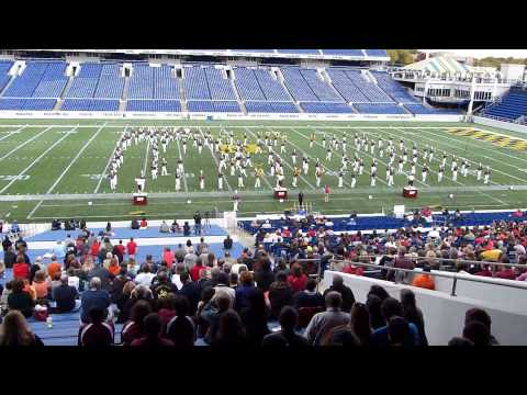 IUP Marching Band at US Mid-Atlantic States Championship