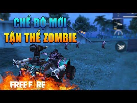 [Garena Free Fire] Trải Nghiệm Chế Độ Tận Thế Zombie | Sỹ Kẹo