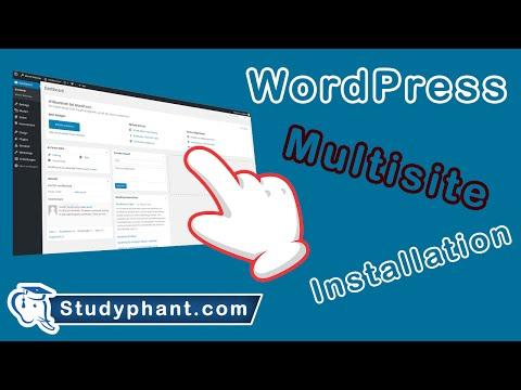Wie eine WordPress Multisite installieren? Schritt für Schritt erklärt. | studyphant.com Video