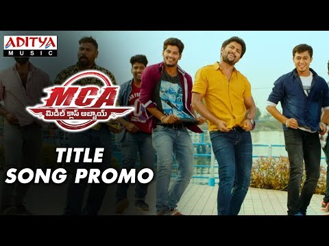 MCA Title Song Promo | MCA Movie Songs | Nani, Sai Pallavi