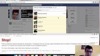 طريقة دعوة جميع اصدقائك من اجل الإعجاب بصفحتك على الفيسبوك بنقرة واحدة (جديد 2015)