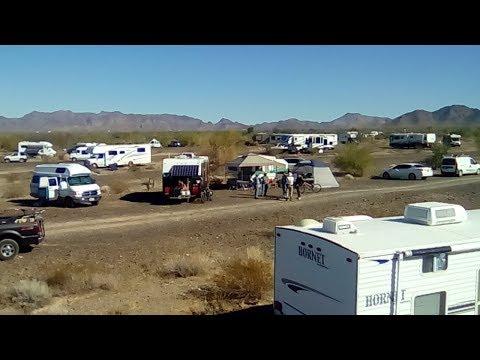 RTR 2018 - Hello from Quartzsite Arizona