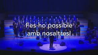 Concert Solidari del Cor de Gospel Sant Cugat, Palau de la Música 26-Jun-2018 a les 21:00
