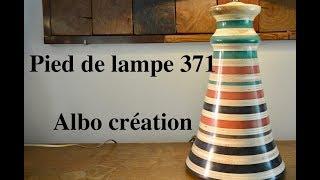 PIED DE LAMPE 371. VALCHROMAT