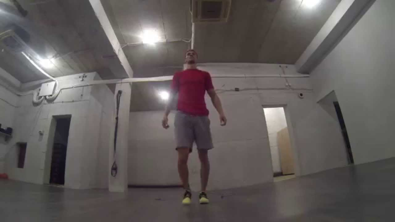 Crossfit Warm Up -Double Unders&Lunges