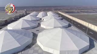وزارة الدفاع تنشر لقطات جوية لأكبر المزارع السمكية في الشرق الأوسط